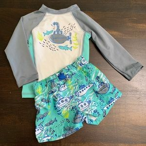 Cat & Jack Submarine Shark Swim Set 🦈